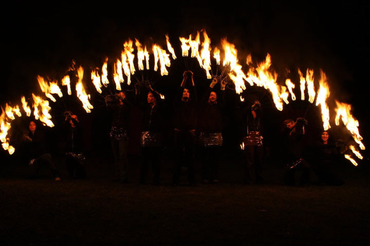 Professional Fire Dance Troupe 001