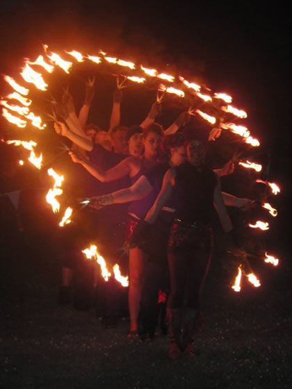 Professional Fire Dance Troupe 002